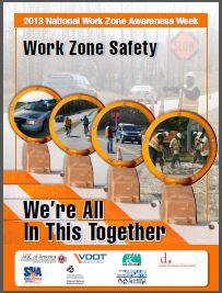 Work Zone Awareness Week Emphasizes Highway Safety