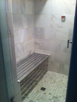 Residential Steam Shower Seat