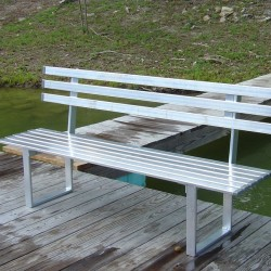 Aluminum Dock Bench
