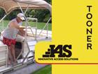 Tooner Pontoon Boat Ladders